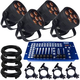 Blizzard LB Hex Unplugged Battery-Powered Wash 4-Pack w/ DMX Controller