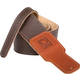 Boss BSL-30-BRN 3 inch Brown Leather Guitar Strap
