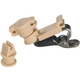 Audio Technica AT8461-TH Lavalier Mic Clip Beige