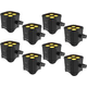 Chauvet EZlink Par Q4 BT Wireless Wash Light 8-Pack