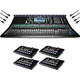 Allen & Heath SQ-7 Digital Mixer w/ ME-1 4-Pack