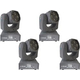 ColorKey Mover Mini Superbeam QUAD 4 Moving Head 4-Pack
