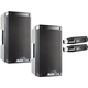 Alto TS308 8-inch 2-Way Speaker Pair w/ Stereo Bluetooth Audio Receiver Pair