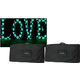 Eliminator Decor Love 45-Inch Tall White RGB LED Letters w/ Bags