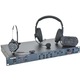 Clear-Com DX410 Belt Pack System with CC-15 Headsets