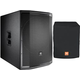 JBL PRX818XLW 18-Inch Powered Subwoofer with Cover
