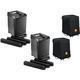 JBL EON ONE PA Speaker Pair with Transporter Bags