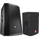 JBL PRX815W Powered Speaker Pair with Padded Covers