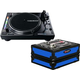 Reloop RP-8000 MK2 Serato Turntable with Blue Case