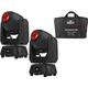 Chauvet Intimidator Spot 260 Moving Head 2-Pack w/ Carry Bag