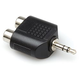 Adapter Dual RCA (F) to 1/8 Stereo (M)