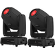 Chauvet Intimidator Spot 475Z 250W LED Moving Head 2-Pack