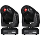Eliminator Stealth Spot 60W LED Moving Head 2-Pack