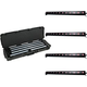 ADJ American DJ UB 12H LED Linear Bar 4-Pack w/ SKB Waterproof Case