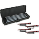 Chauvet COLORband T3 BT Linear Bar 4-Pack w/ SKB Waterproof Case