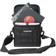 Magma MGA43026 45 Record Bag 50LP Black/Khaki