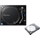 Pioneer PLX-1000 Pro Turntable with Decksaver Cover