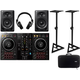 Pioneer PK-STP03 DJ Starter Kit with Stands & Case