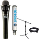 Blue enCore 300 Cond Mic with Icicle USB Interface Recording Bundle