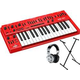 Behringer MS-101-RD Analog Synth with Keyboard Stand