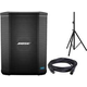 Bose S1 Bluetooth Battery Powered PA Speaker with Stand