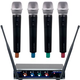 VocoPro Digital Quad H3 UHF Wireless Handheld Mic System
