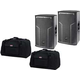 DAS Action-512A 12-In Powered Speaker Pair w/ Bags