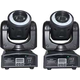 ColorKey Mover Halo Spot 30W LED Moving Head 2-Pack