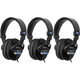 Sony MDR 7506 Professional Studio Headphone 3-Pack
