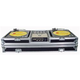 Odyssey DJ Case For (2) Turntables & 10-In Mixer +