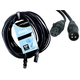 Accu-Cable 3Pin XLR (F) to XLR (M) DMX Cable 100Ft