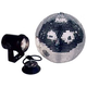 ADJ American DJ M100L 8 Inch Mirror Ball Package