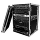 Road Ready RR16UAD Delux 16 Space Amp Rack       *