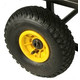 "Rock N Roller R10PWHL/Y 10""x3"" Pneumatic Wheel"