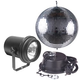 American DJ M500L 12 in Mirror Ball and Light Pack