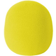 Large Yellow Microphone Windscreen