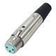 Economy XLR Cable Connector - Female