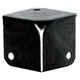 Hardware Medium Corner Black