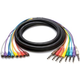 9.9 Ft 8-Ch Snake RCA (M) to 1/4 (M) Unbalanced