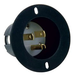 AC Recessed Mountable Male AC Plug