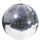 ADJ American DJ 8-Inch Glass Mirror Ball with Hook