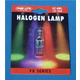 BRL 12V 50W Halogen 2-Pin Lamp - 50 Hours