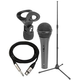 PSSL Vocal Microphone Plus Stand & Mic Cable Pack