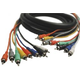 13.2 Ft 8-Ch Snake RCA (M) to RCA (M) Unbalanced