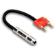 "Hosa BNP-116RD Speaker Adapter 1/4"" (F) to Dual Banana (Red)"