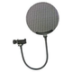 Nady Microphone Pop Filter w/ Gooseneck & Clip