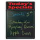 Tecart TODAYSSPECIALS 20 X 25 Write On Sign Board