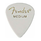 Fender 351 Guitar Pick (12 Pack) White Med