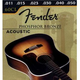 Fender Acoustic Guitar Strings - PHOSBRZ 60L 12-52