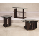 Hammary Apex Collection Occasional Table Set in Dark Cherry 105-SET